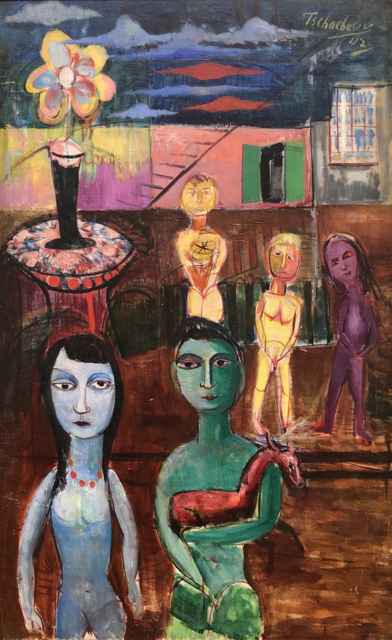 Nahum Tschacbasov Surreal Family