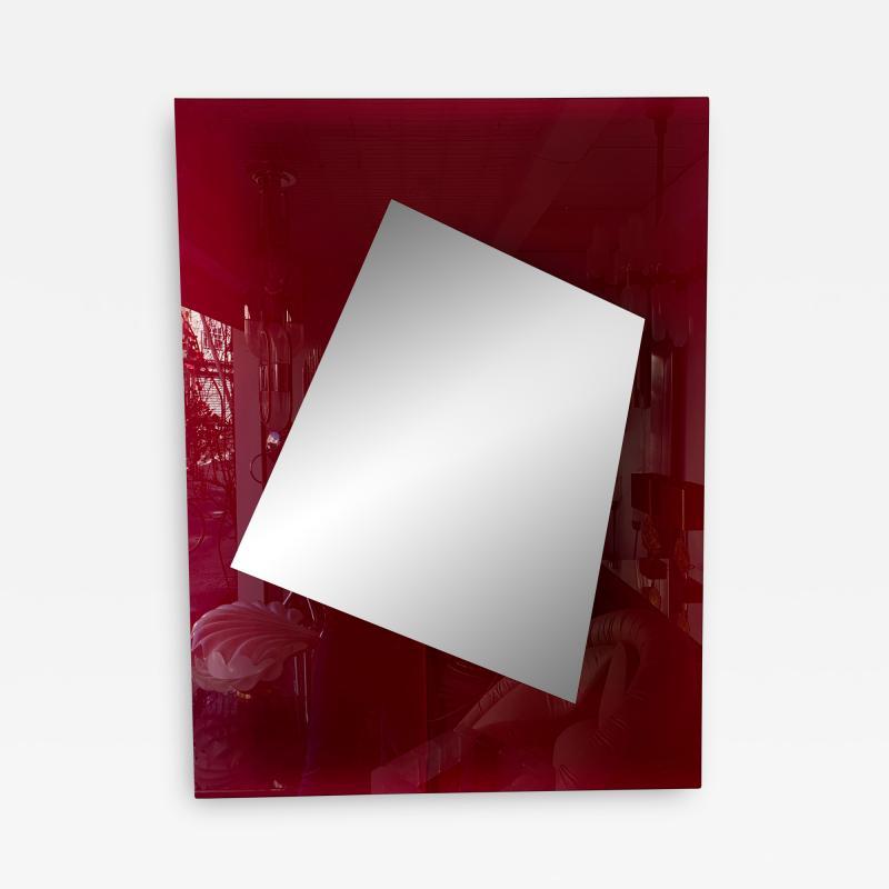 Nanda Vigo Lightning Mirror by Nanda Vigo Italy 2008
