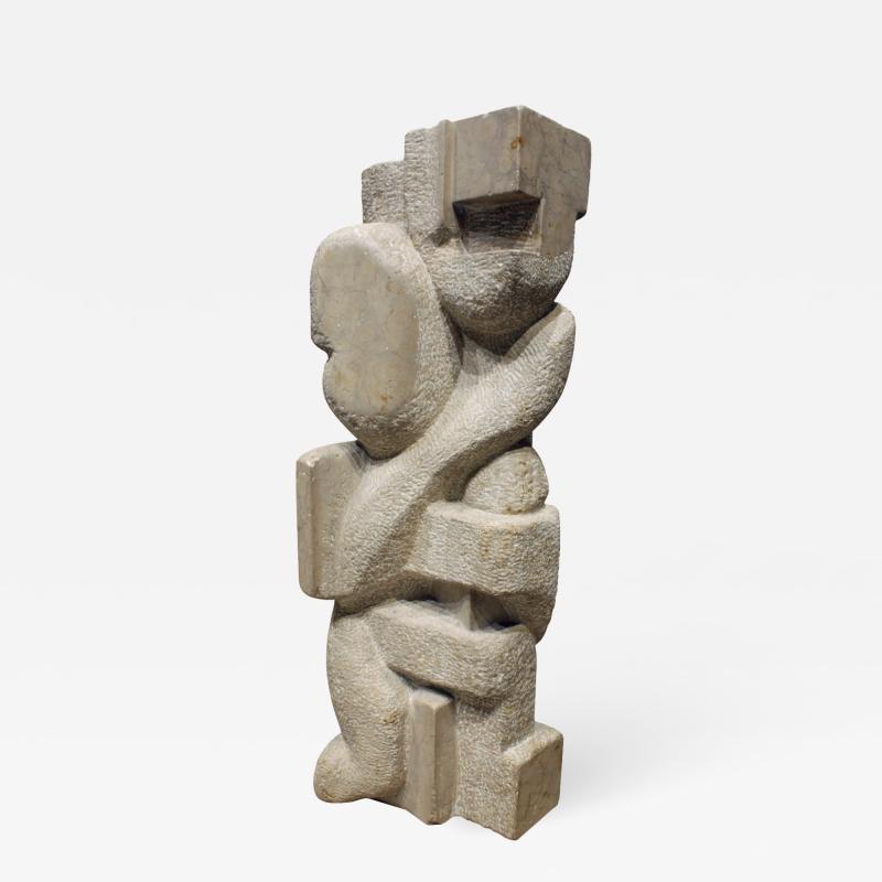 Naomi Feinberg Naomi Feinberg Dream within a Dream Sculpture in Italian Marble 1960s
