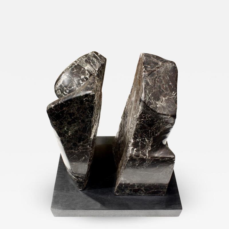 Naomi Feinberg Naomi Feinberg Fractured Planet Sculpture in Italian Red Levanto 1960s