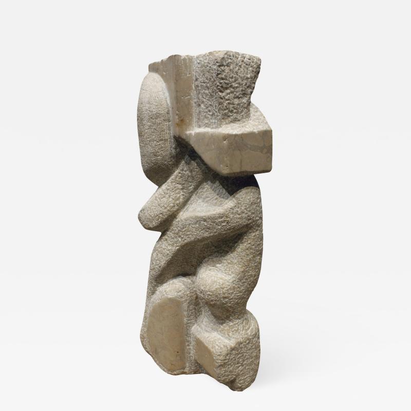 Naomi Feinberg Naomi Feinberg When Gentle Things Were Said Sculpture in Italian Marble 1970s