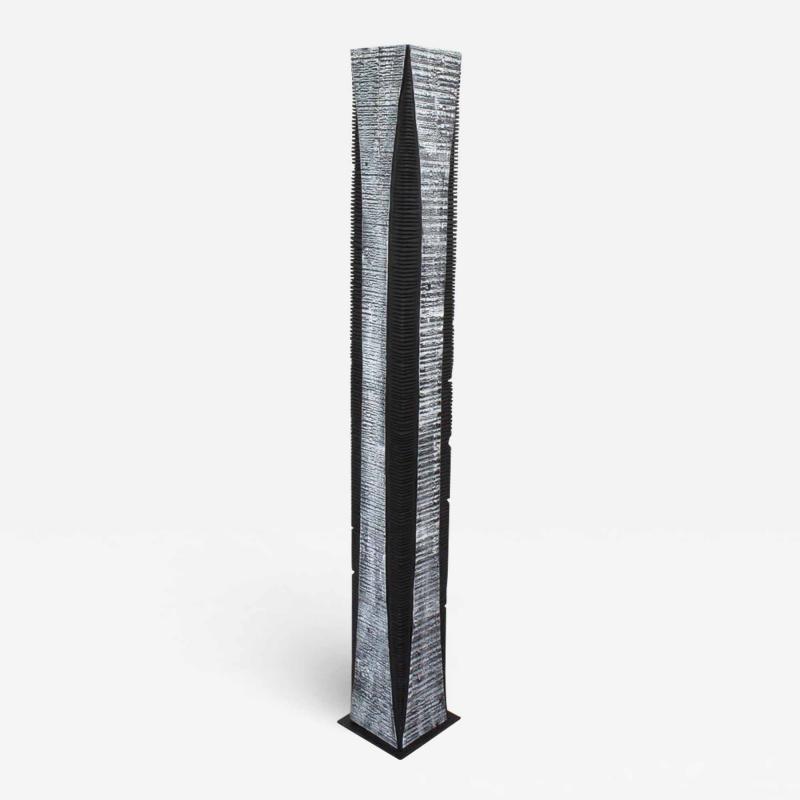 Natacha Heitz Contemporary Wood Sculpture Gratte Ciel 160