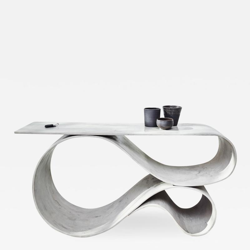 Neal Aronowitz Whorl Console from the Concrete Canvas Collection by Neal Aronowitz