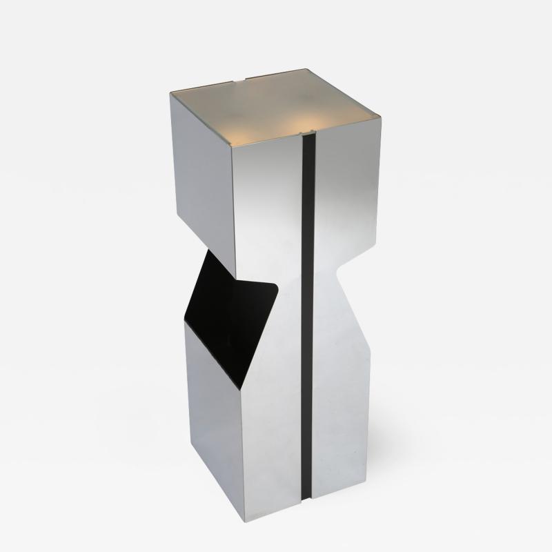 Neal Small Neal Small Illuminated Pedestal wqith Magazine Storage