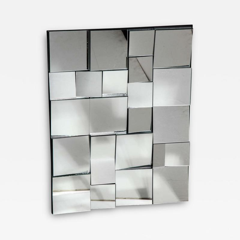 Neal Small Neal Small Smaller Faceted Slopes Mirror from Circa 2000 Limited Edition