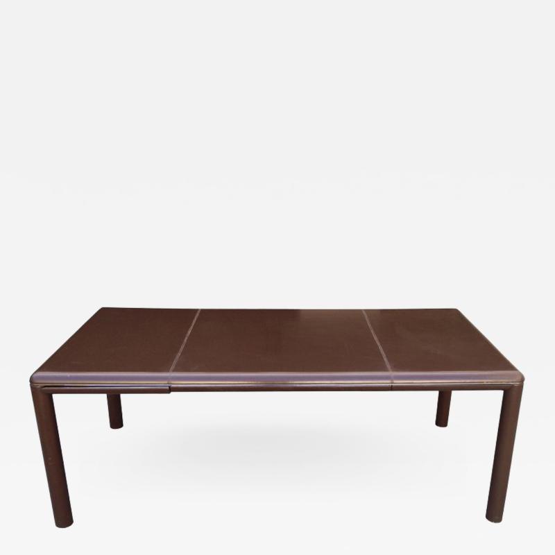 Neils Diffrient Executive Leather Desk and Chair by Neils Diffrient for Knoll