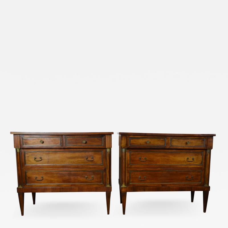 Neoclassical Style Nightstands