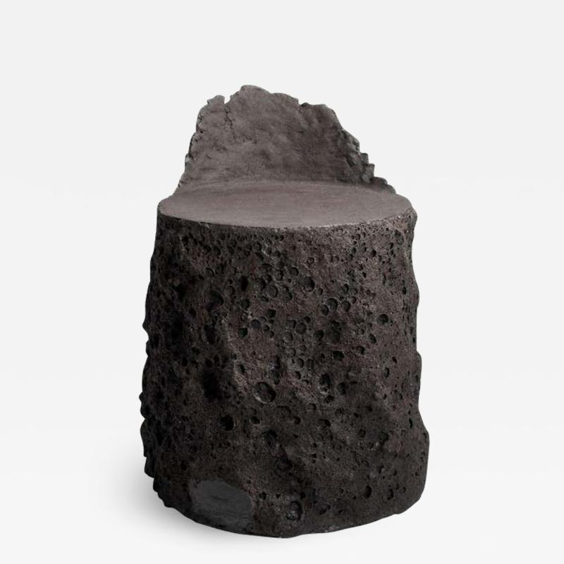 Niclas Wolf Geoprimitive Ceramic Settle by Niclas Wolf