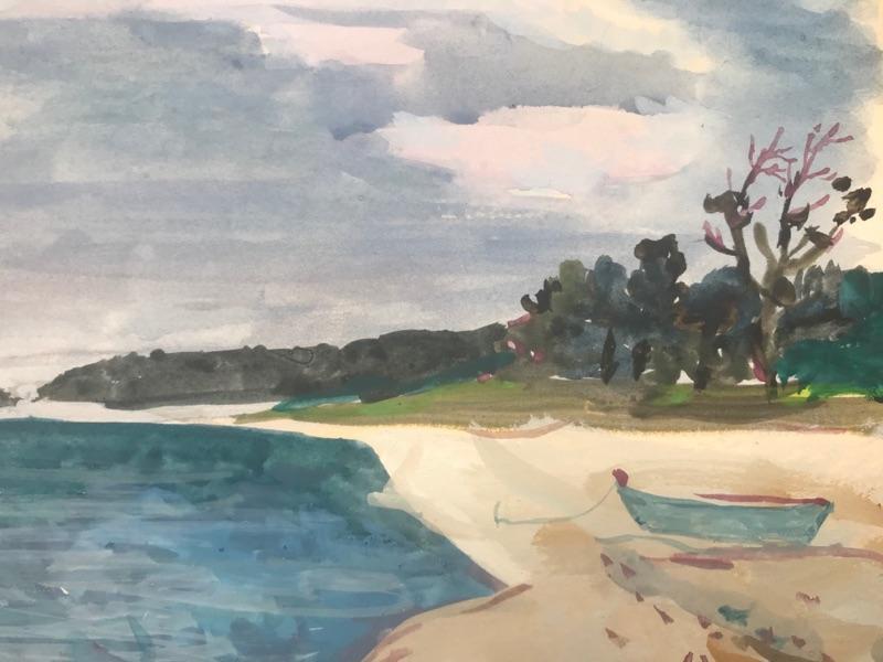 Nicolai Cikovsky Beach on Peconic Bay