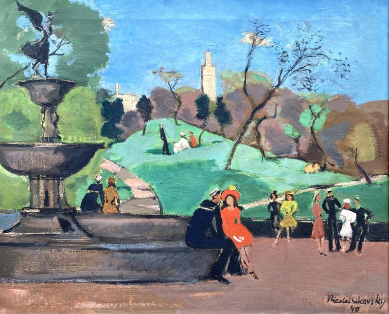 Nicolai Cikovsky Bethesda Fountain Central Park