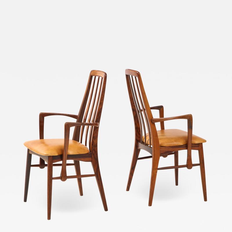 Niels Koefoed Danish Teak Chairs by Niels Koefoed