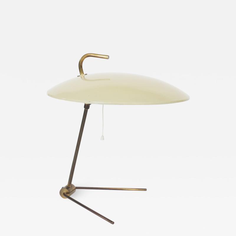 Nikolay Diulgheroff Nikolay Diulgheroff Art Deco Futurism Table Lamp Italy 1938