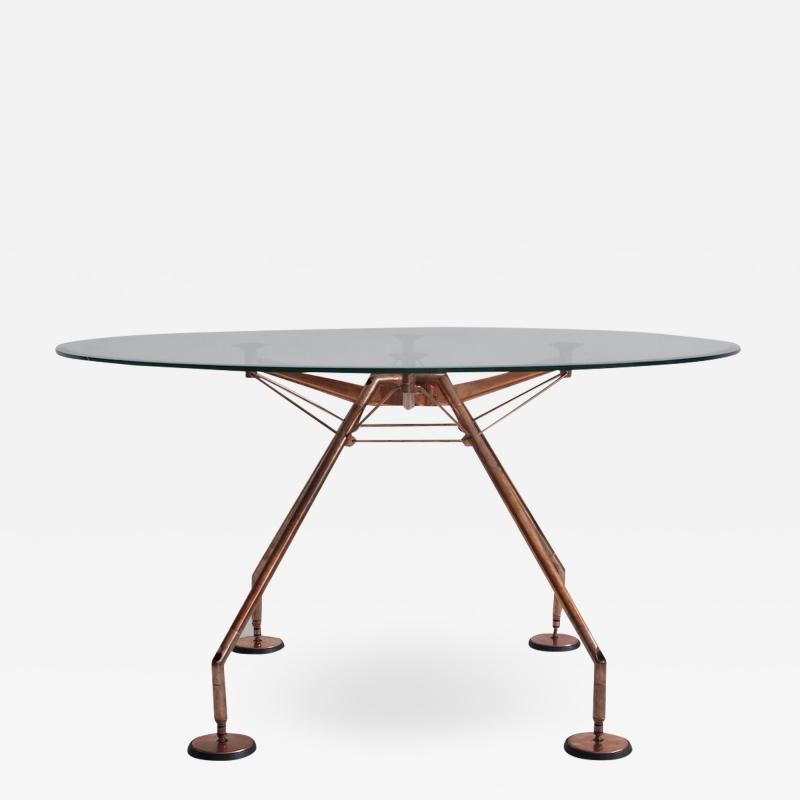 Norman Foster Round Nomos Dining Table by Sir Norman Foster Partner