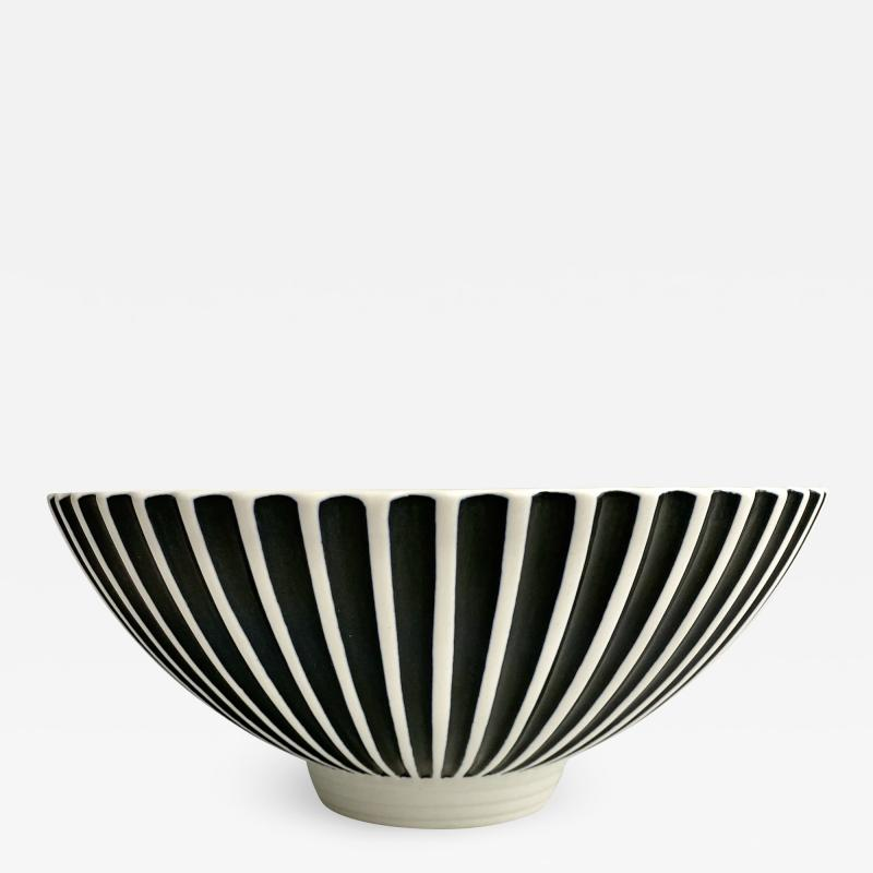 Norman Wilson Norman Wilson Wedgwood Large Fluted Bowl