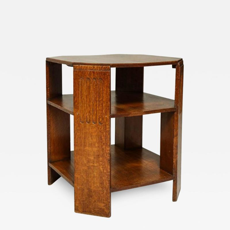 Octagonal End Table