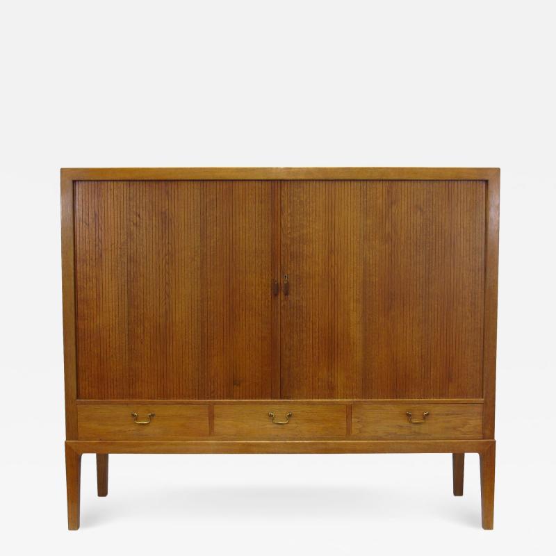Ole Wanscher 1930s Ole Wanscher Oak Sideboard Cabinet