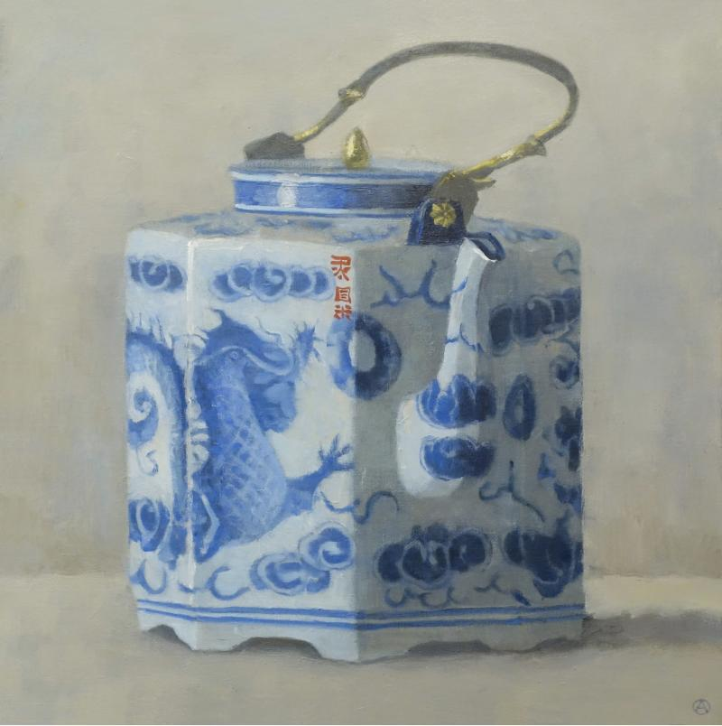 Olga Antonova Teapot with Dragon