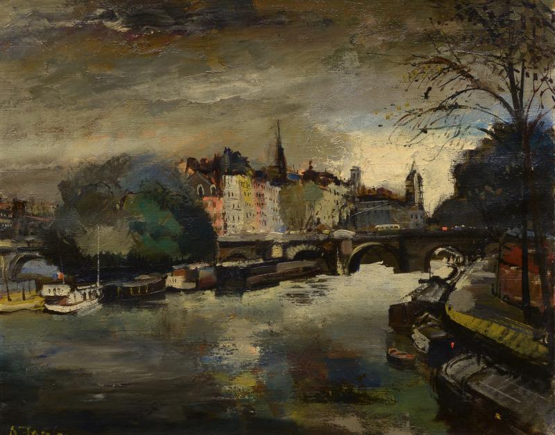 Oliver Foss Along the Seine Paris