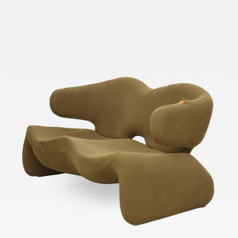 Olivier Mourgue Olivier Mourgue Djinn Settee for Airborne Reupholstery Needed