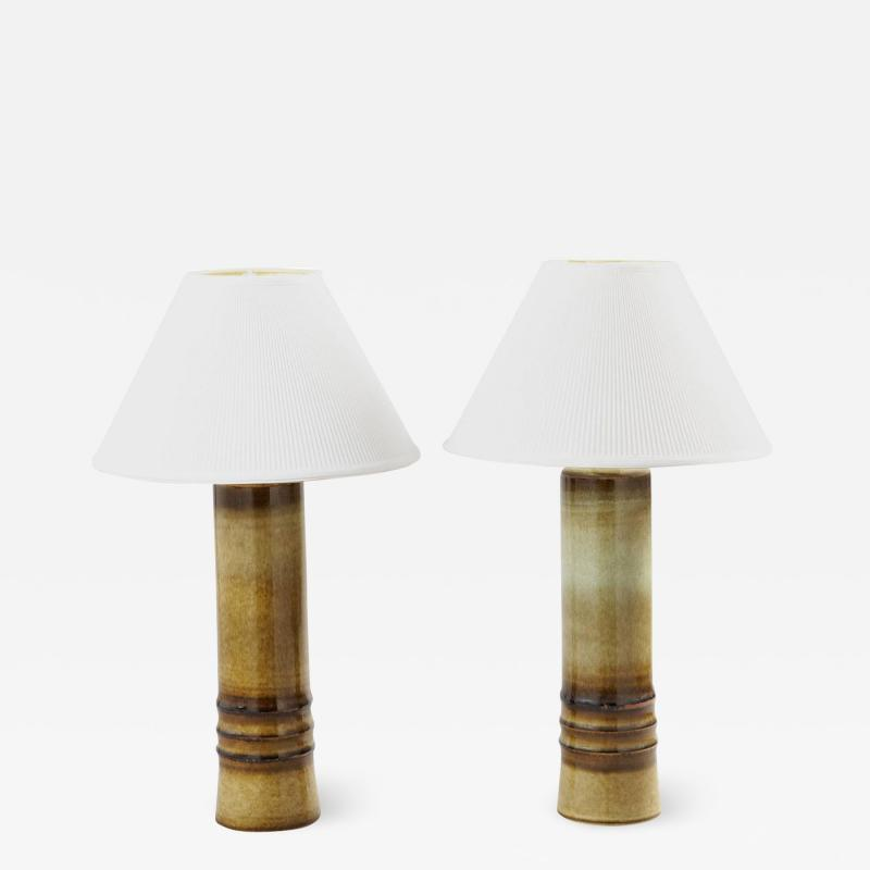 Olle Alberius Pair of Table Lamps by Olle Alberius