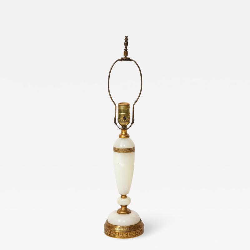 Onyx and Bronze Lamp