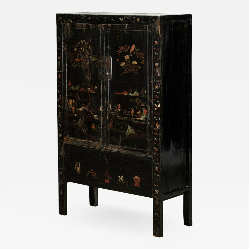 Original Decorated Cabinet from Shanxi 1800 1830