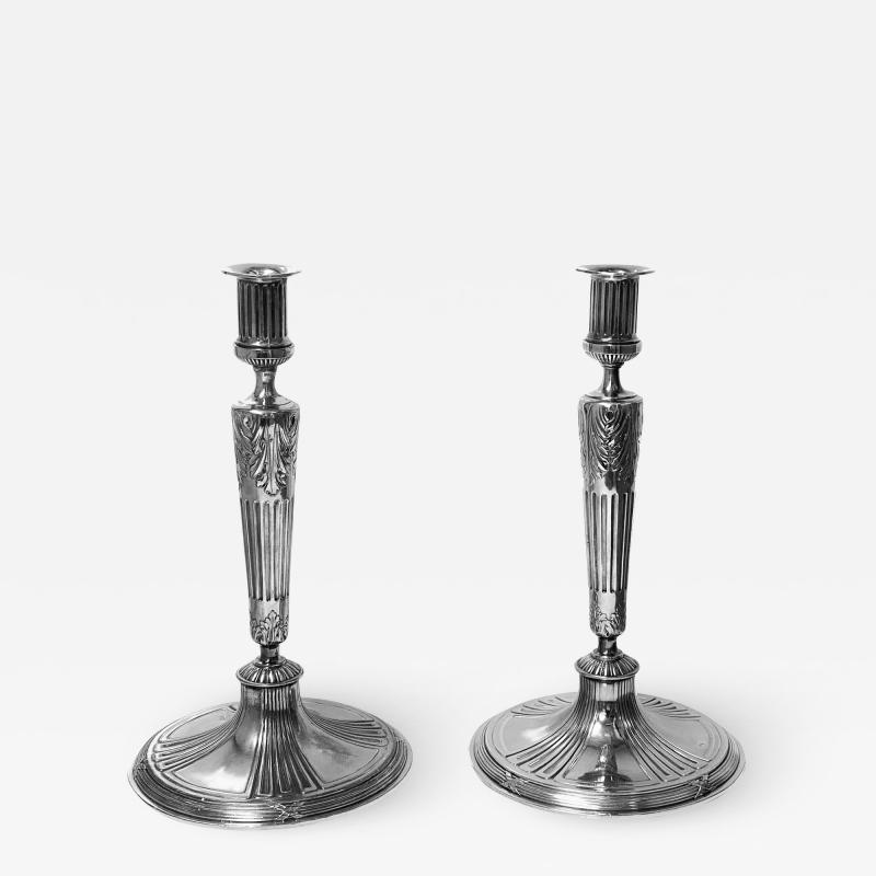 Orivit Jugendstil Secessionist Candlesticks Germany C 1900