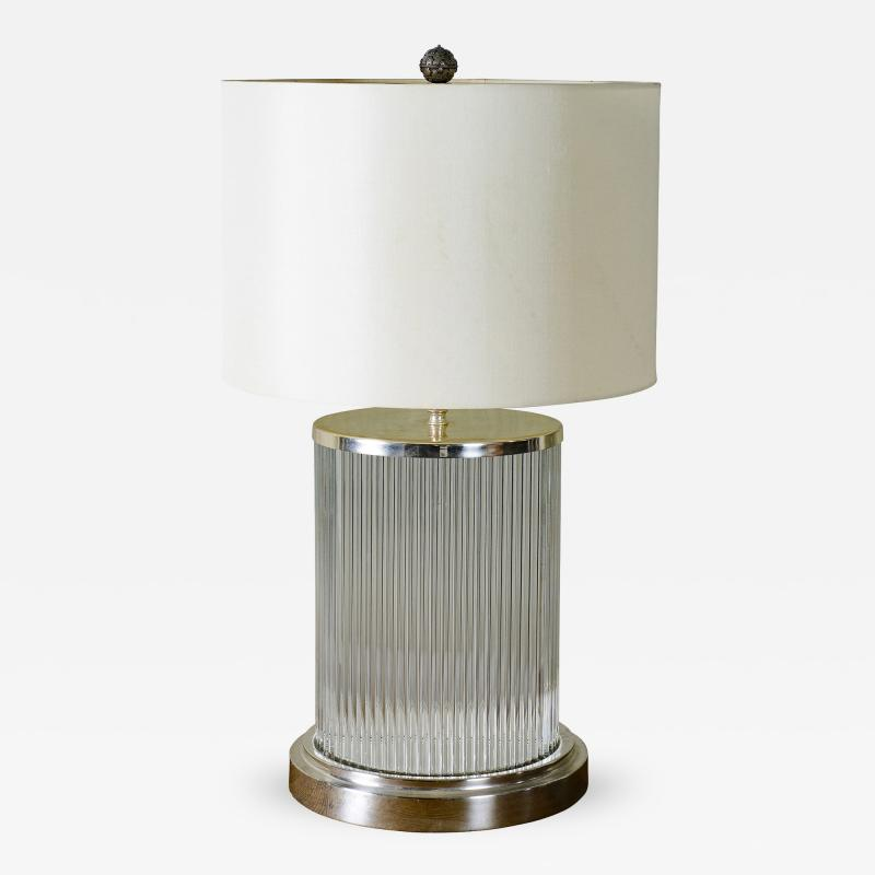 Orleta Glass Table Lamp