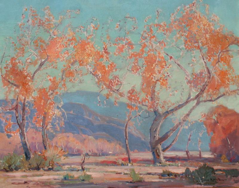 Orrin Augustine White Southern California Landscape
