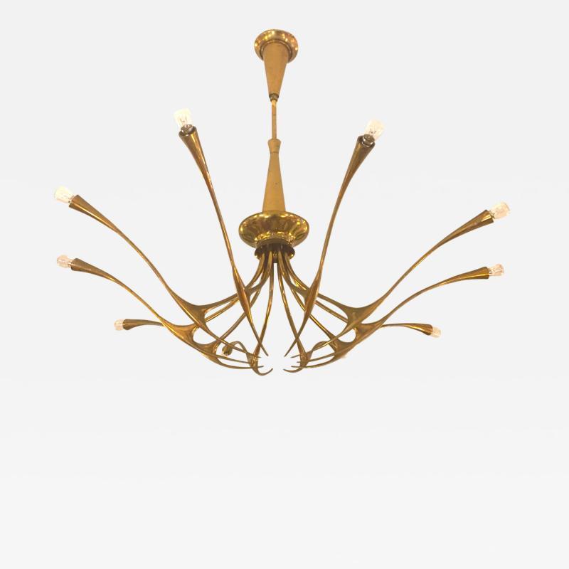 Oscar Torlasco OSCAR TORLASCO Model 392 ceiling lamp circa 1955