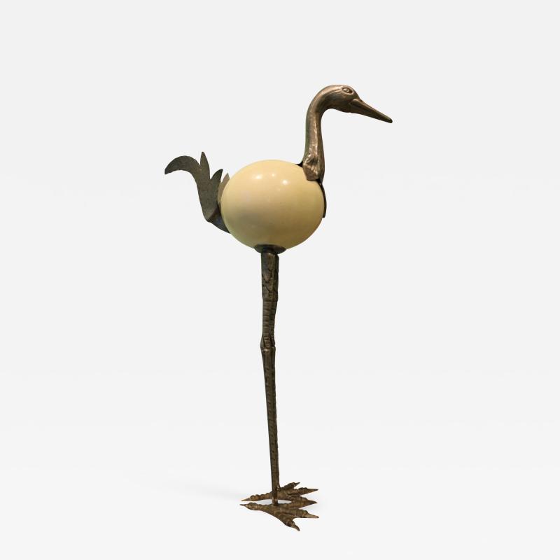 Ostrich egg sculpture