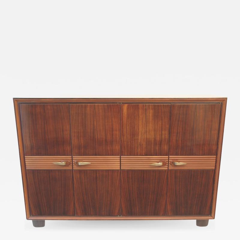 Osvaldo Borsani 4 Cabinet Doors in Rosewood