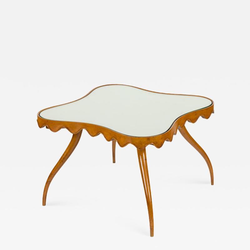 Osvaldo Borsani Osvaldo Borsani Mirror Top Coffee or Side Table