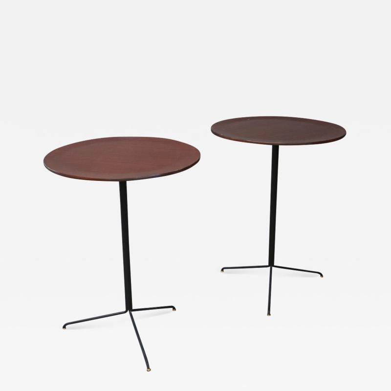 Osvaldo Borsani Pair of MidCentury Coffee Table by Osvaldo Borsani for TECNO Model T44 1950s