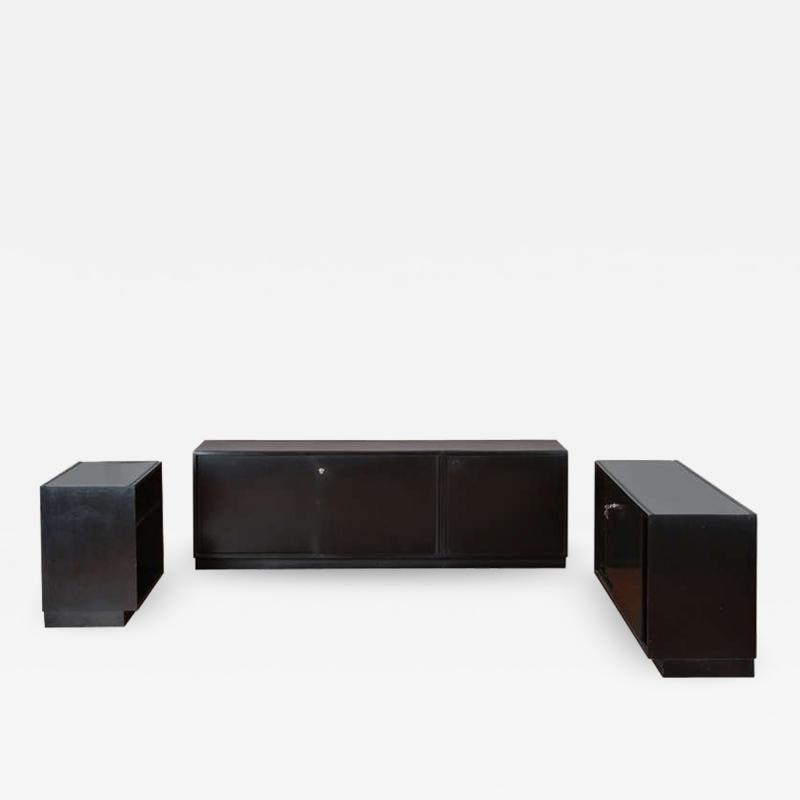 Osvaldo Borsani Set of Three Cupboards by Osvaldo Borsani for Tecno