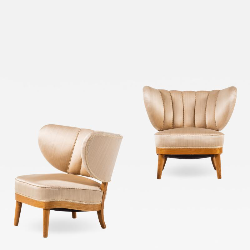 Otto Schultz Easy Chairs Produced by Boet