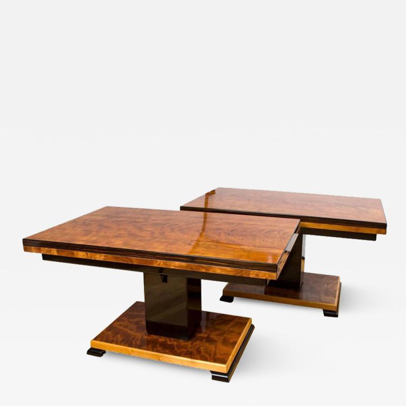 Otto Wretling Pair of Otto Wretling Idealbordet Adjustable Tables
