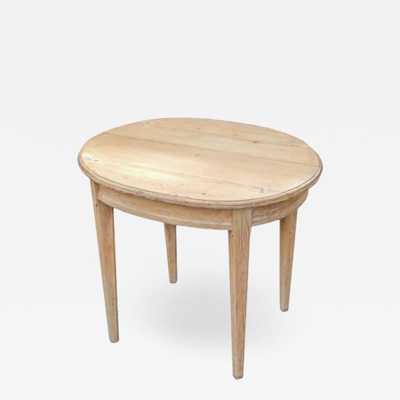 Oval Pine Table