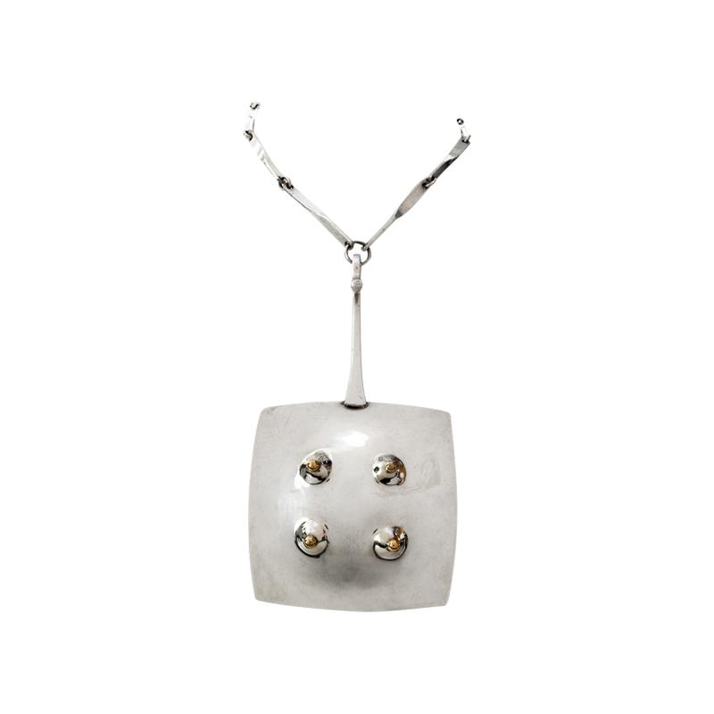 Ove Bohlin SILVER PENDANT W CHAIN IN STERLING BY OVE BOHLIN 1972