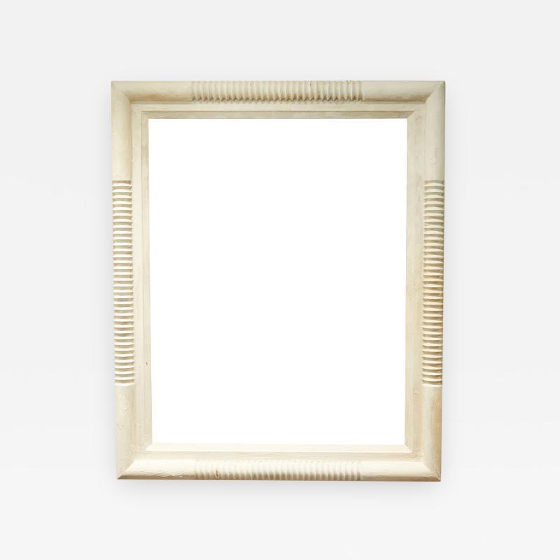 Oversized Wood Frame Mirror