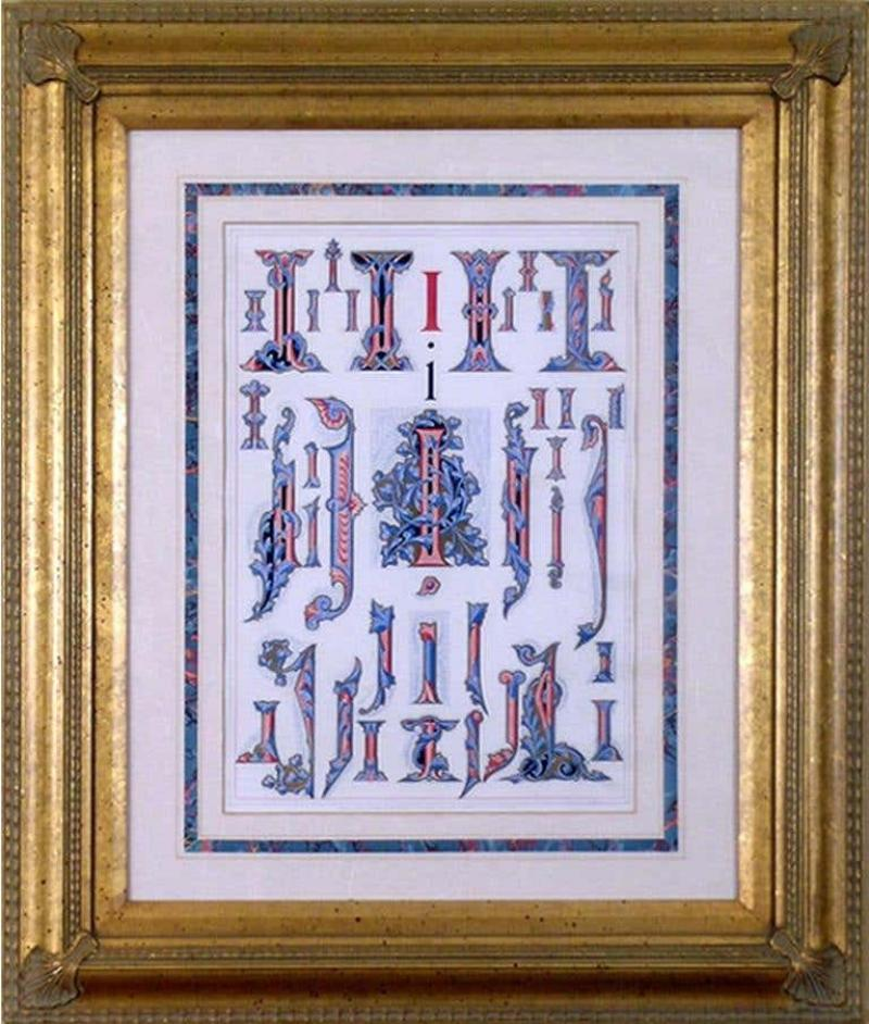 Owen Jones Owen Jones Initial Letters I Alphabet 1864