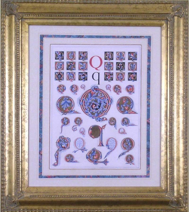 Owen Jones Owen Jones Initial Letters Q Alphabet 1864