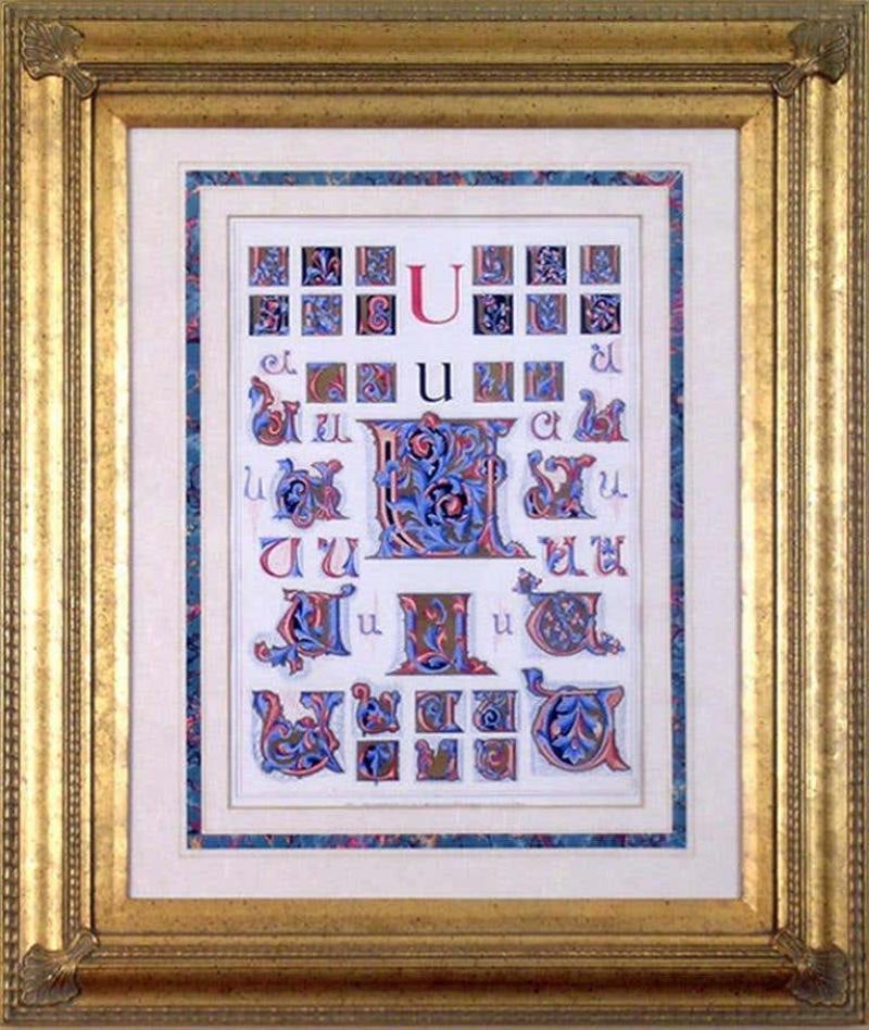 Owen Jones Owen Jones Initial Letters U Alphabet 1864