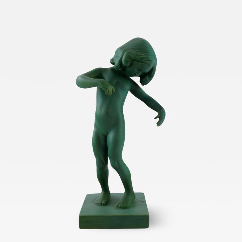 P Ipsen Jade green girl no 888 Venus Kalipygos