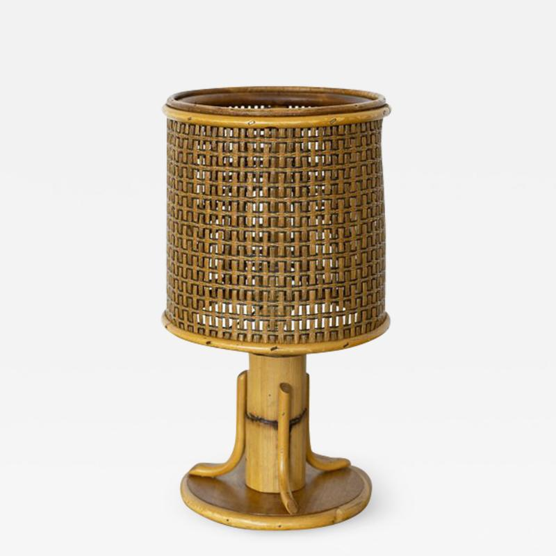 PETITE FRENCH BAMBOO LAMP