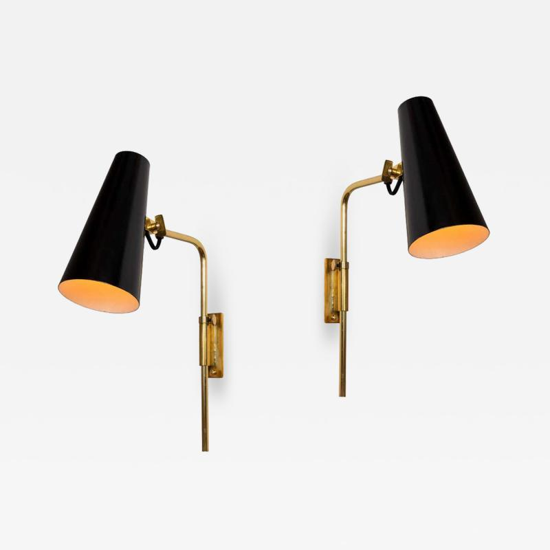 Paavo Tynell 1950s Paavo Tynell 9459 Wall Lights for Taito OY