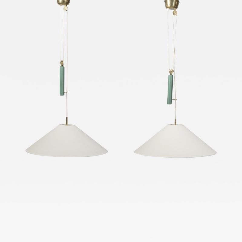 Paavo Tynell A Pair of Pendants by Paavo Tynell