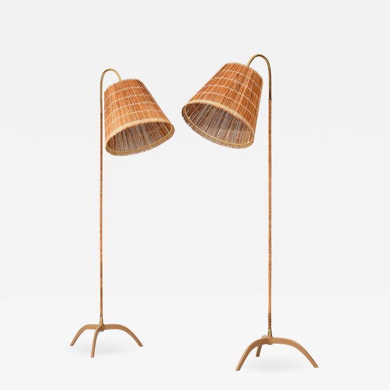 Paavo Tynell Floor Lamps Model 9609 Produced by Taito Oy