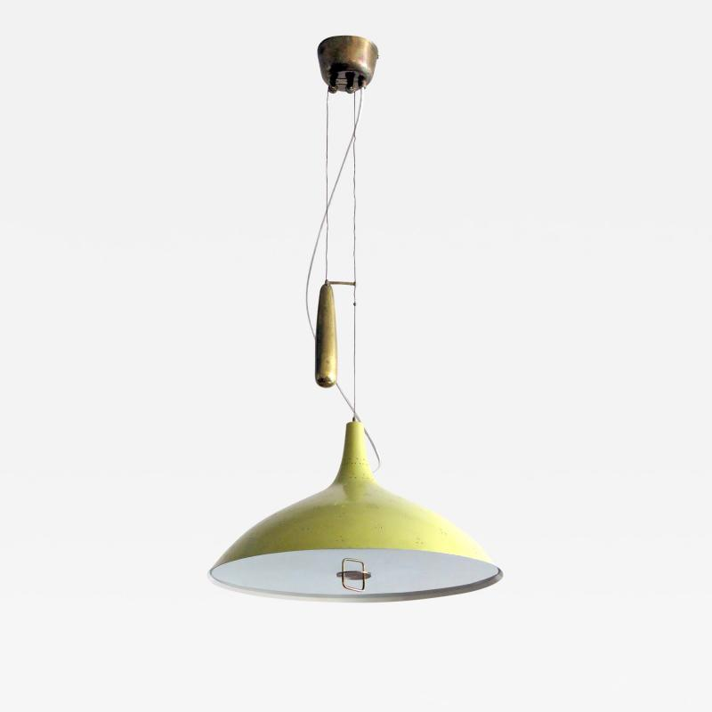 Paavo Tynell Large Counter Weight Chandelier A1965 by Paavo Tynell