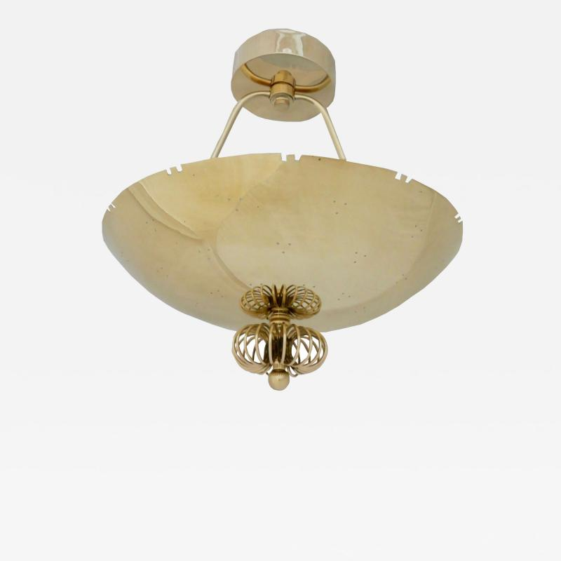 Paavo Tynell Paavo Tynell Brass Chandelier